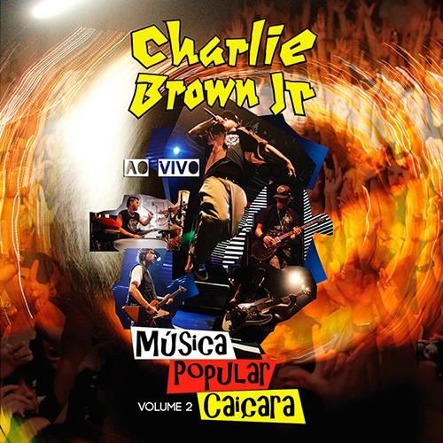 CD CHARLIE BROWN JR - MUSICA POPULAR CAIÇARA VOL. 2