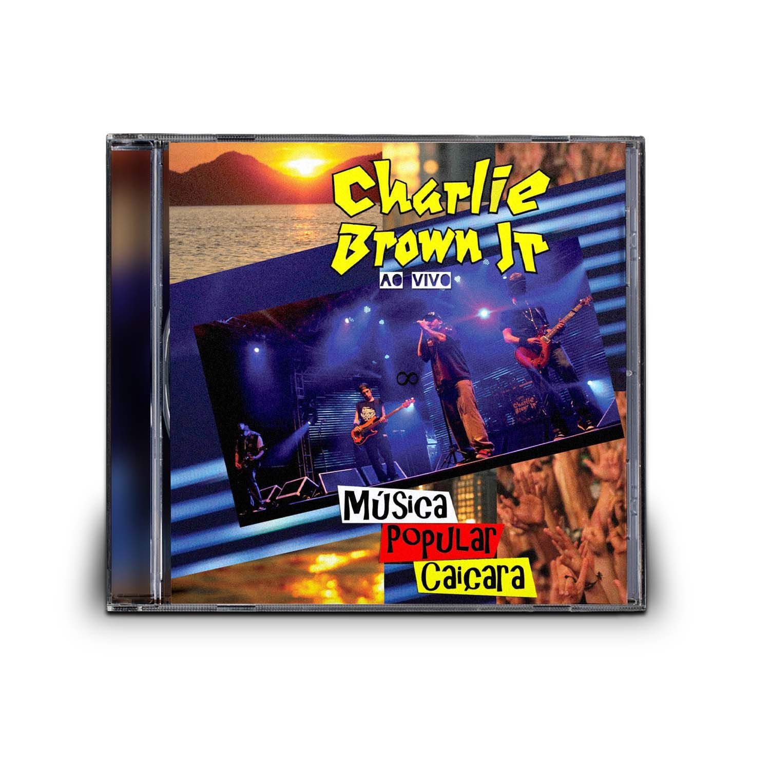 CD CHARLIE BROWN JR - MUSICA POPULAR CAIÇARA VOL. 2