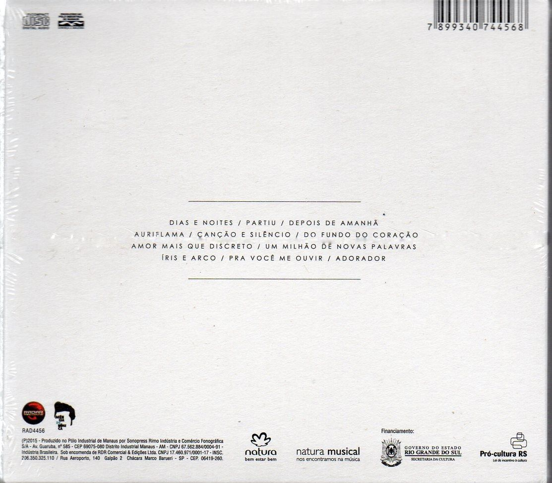 CD FILIPE CATTO - TOMADA (DIGIPACK)