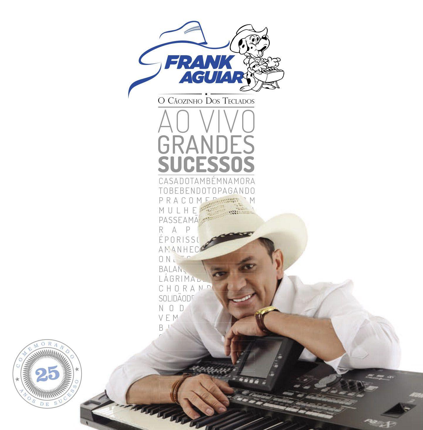 CD Frank Aguiar - Grandes Sucessos Ao Vivo