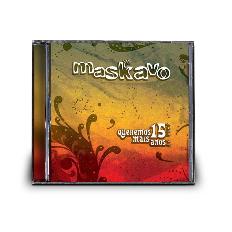 CD MASKAVO - AO VIVO - Clube Radar 2f99505d3a6