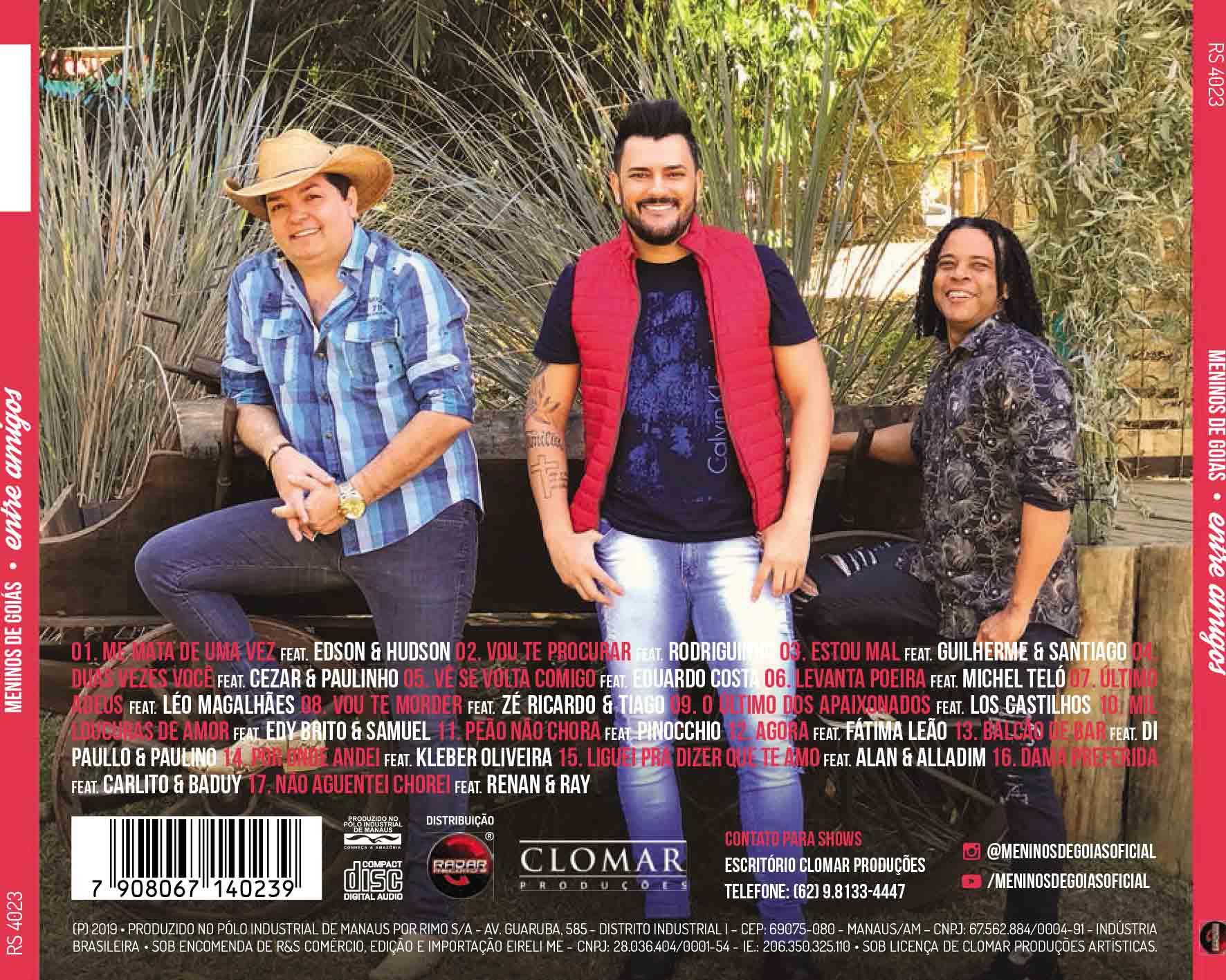 CD MENINOS DE GOIÁS - ENTRE AMIGOS