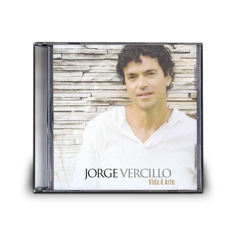 CD JORGE VERCILLO - VIDA É ARTE