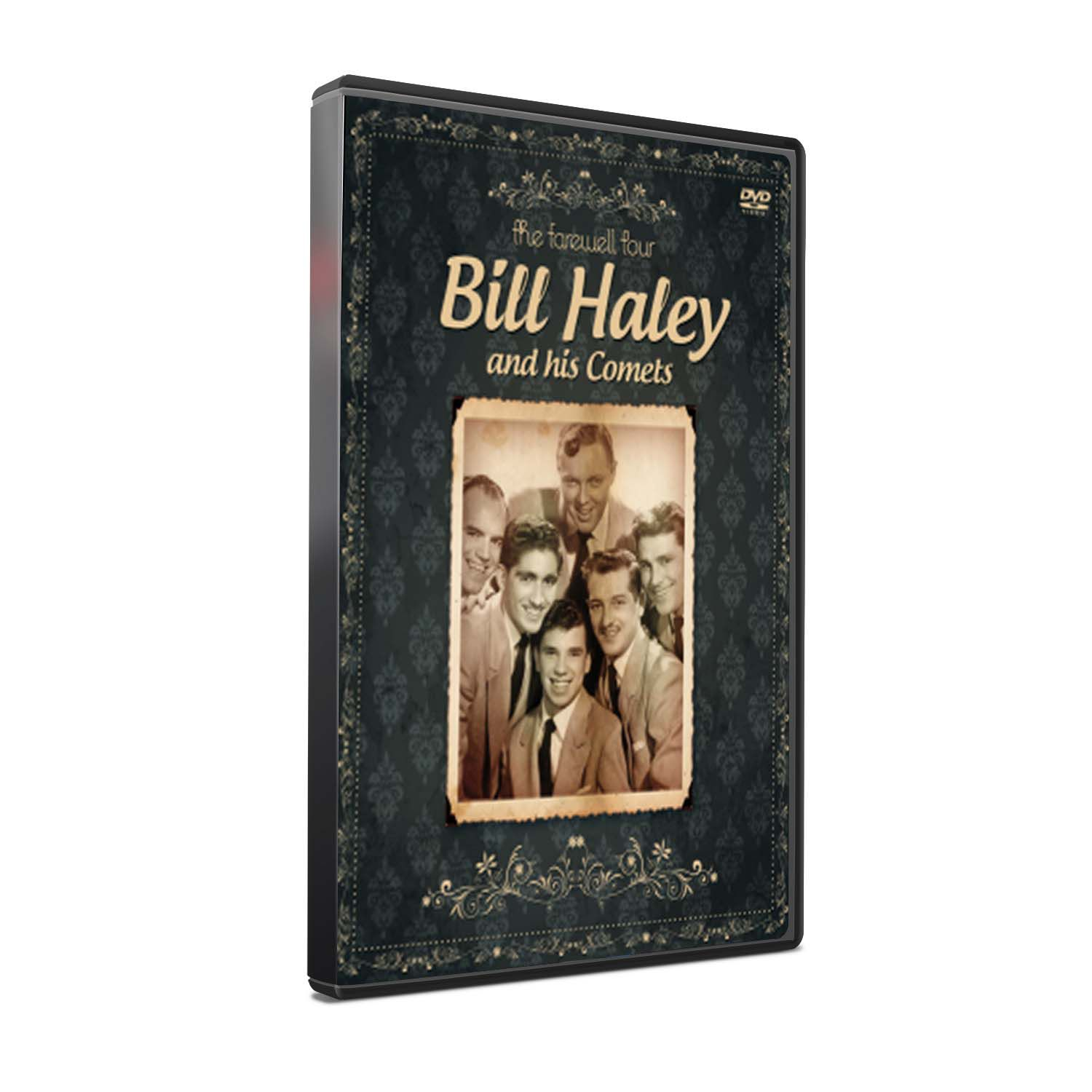 DVD BILL HALEY AND HIS COMETS - THE FAREWELL TOUR