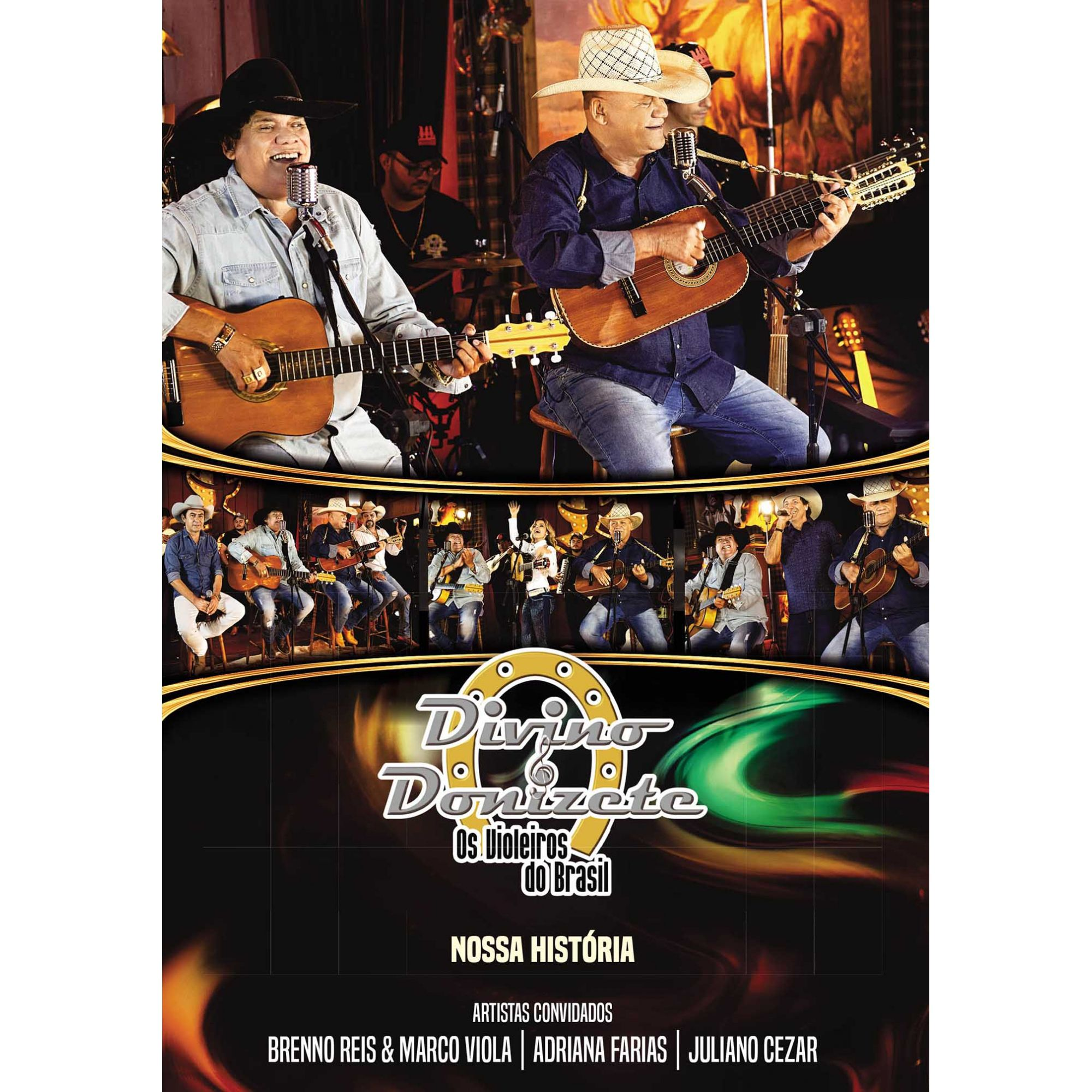 DVD Divino & Donizete - Nossa História
