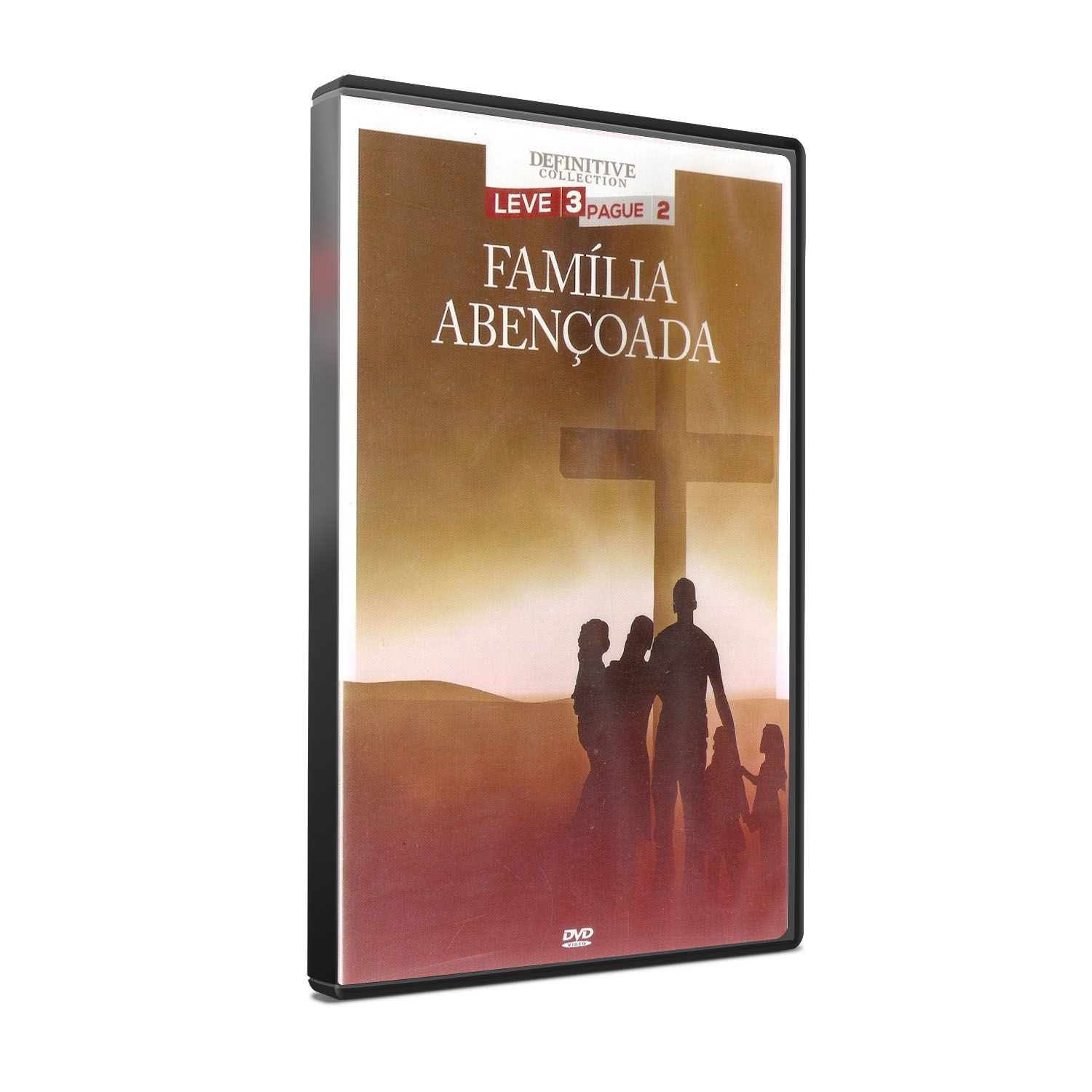 DVD FAMILIA ABENÇOADA - DEFINITIVE COLLECTION
