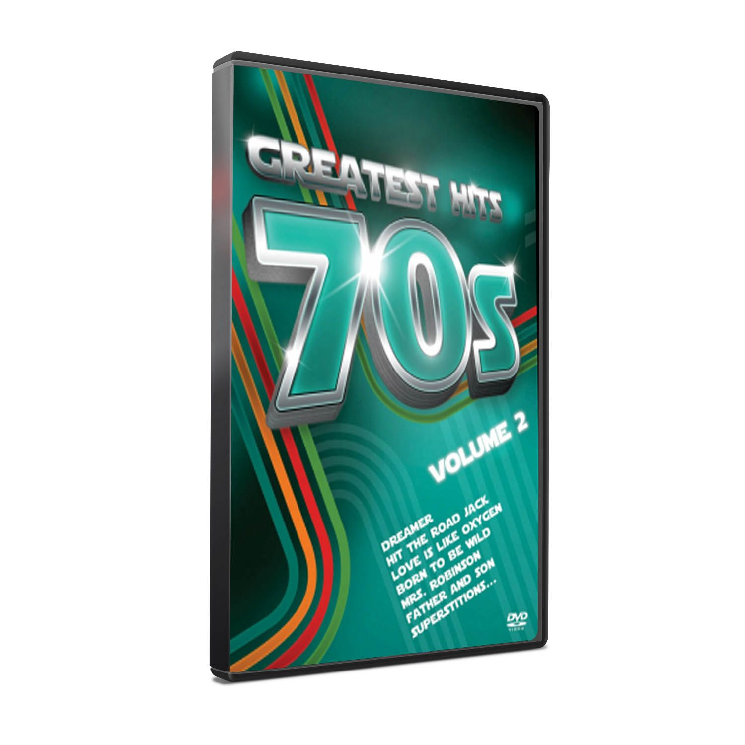 DVD GREATEST HITS 70´S VOL. 2