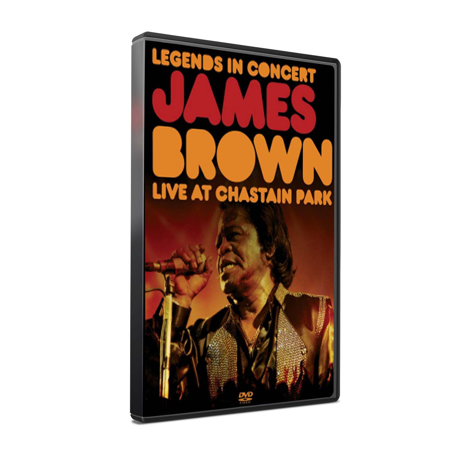 DVD JAMES BROWN - LIVE AT CHASTAIN PARK