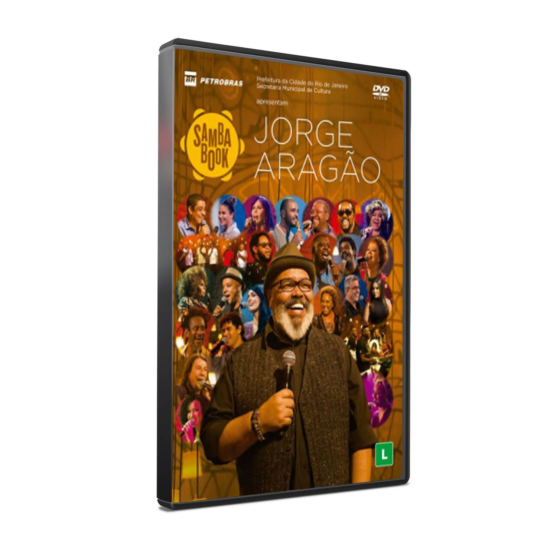 DVD JORGE ARAGÃO - SAMBA BOOK
