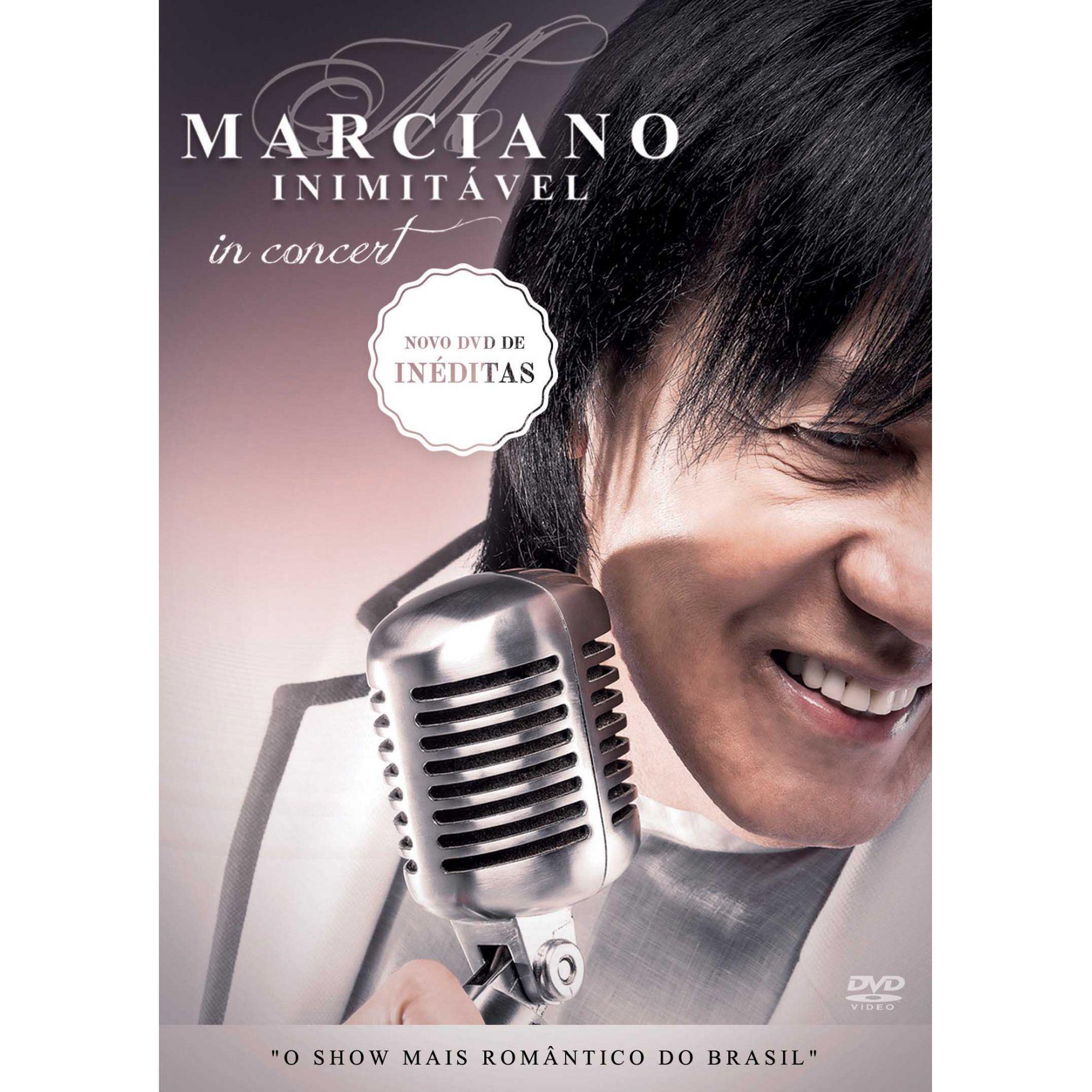 DVD MARCIANO - IN CONCERT (AO VIVO)