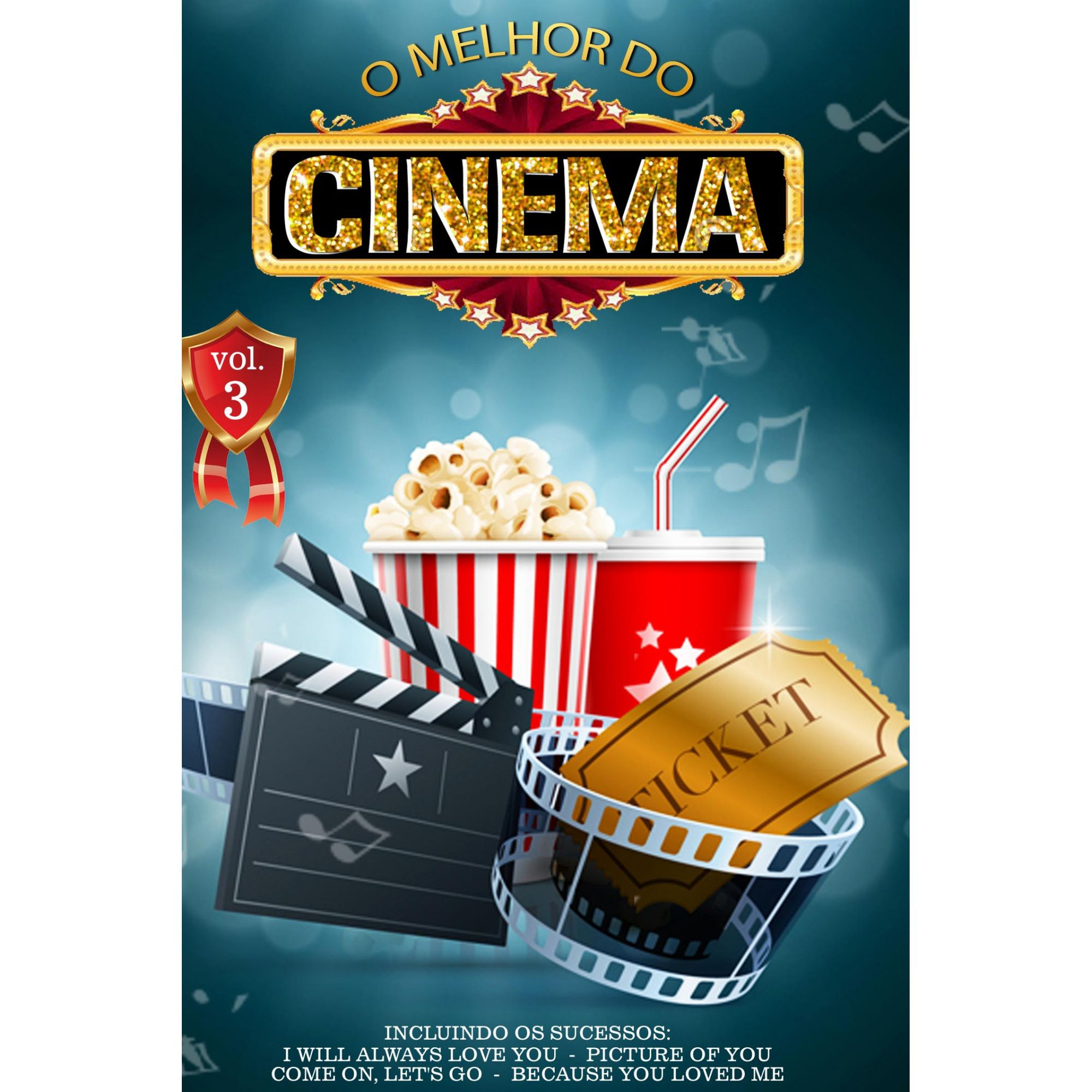 DVD O Melhor do Cinema Vol. 3