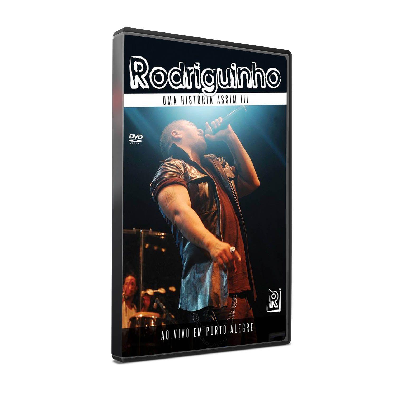 DVD RODRIGUINHO - UMA HISTÓRIA ASSIM III