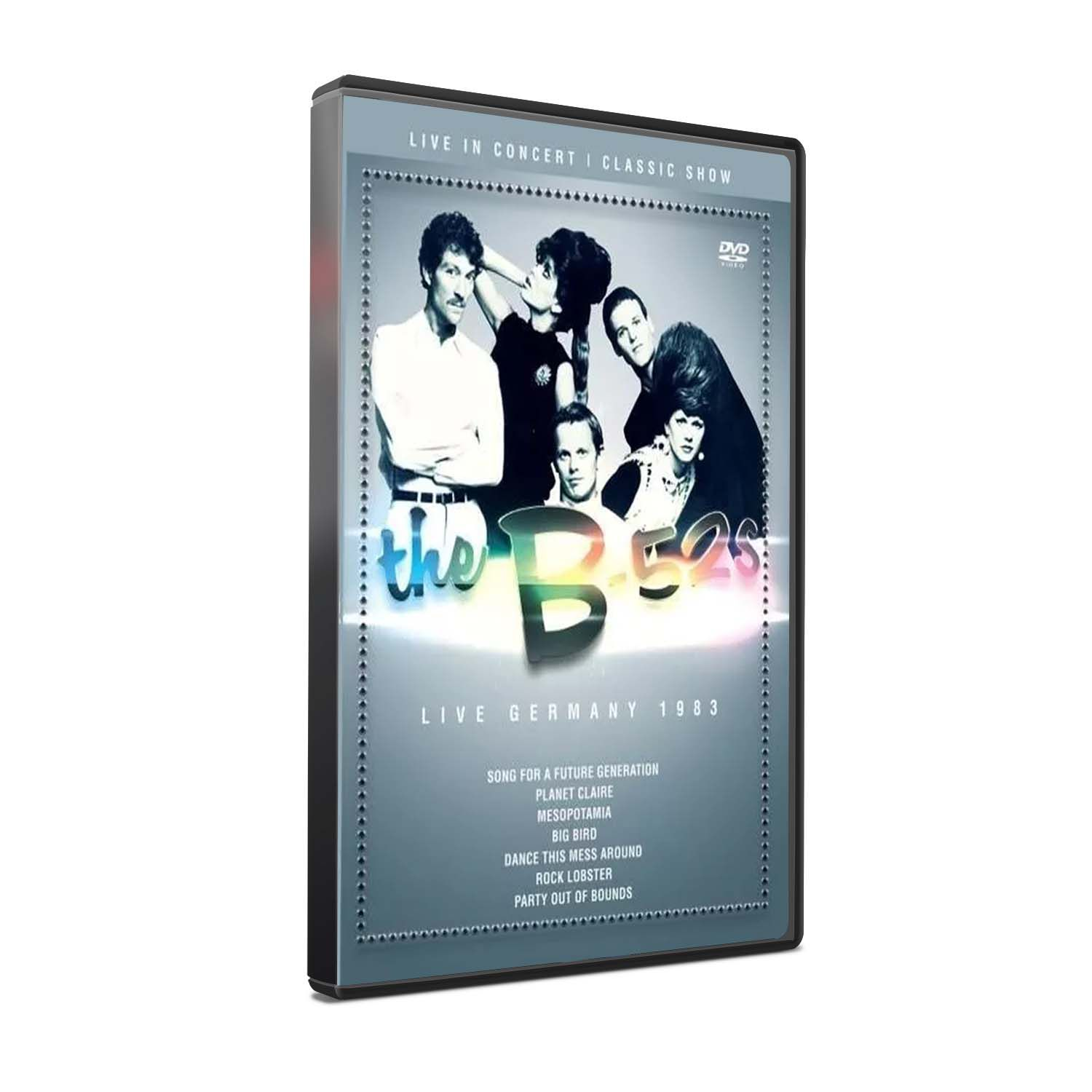 DVD THE B-52´S - LIVE IN GERMANY 1983