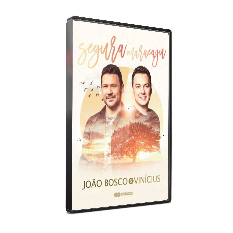 KIT DVD+CD João Bosco & Vinícius - Segura Maracaju