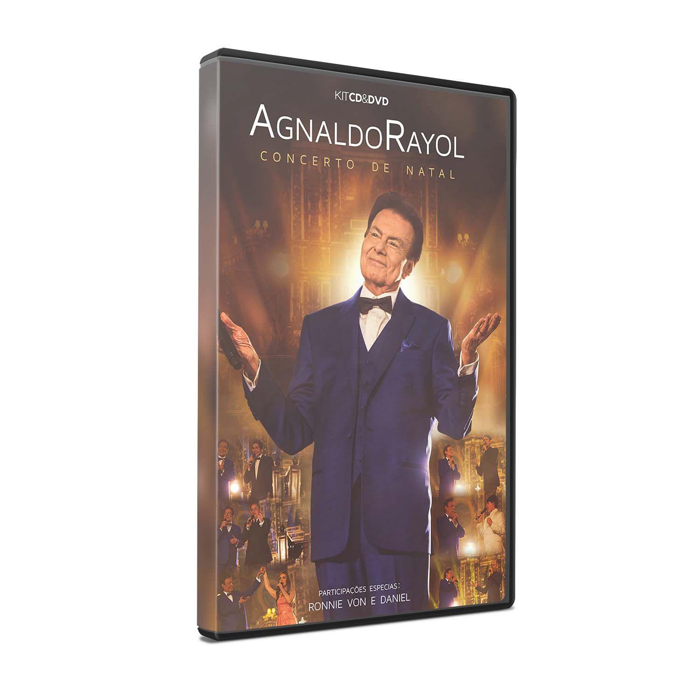 KIT DVD + CD AGNALDO RAYOL - CONCERTO DE NATAL