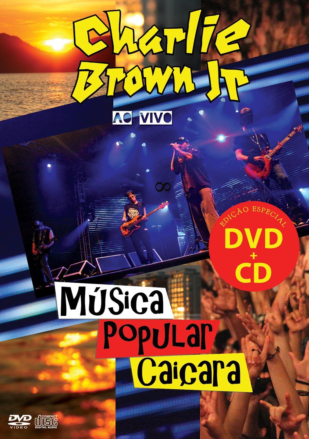 KIT DVD+CD CHARLIE BROWN JR - MÚSICA POPULAR CAIÇARA