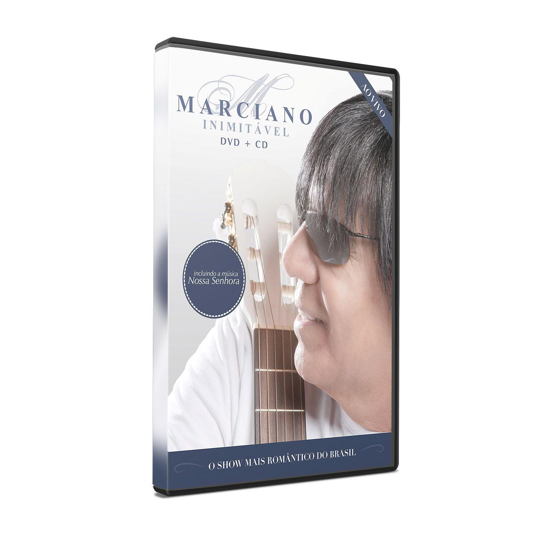 KIT DVD+CD MARCIANO - INIMITÁVEL (AO VIVO)