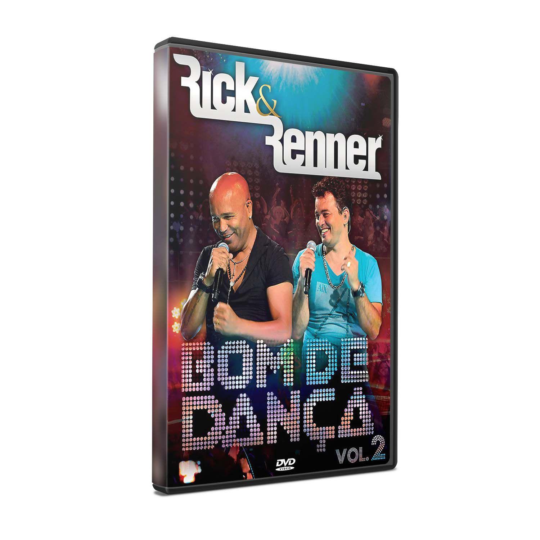 KIT DVD+CD RICK & RENNER - BOM DE DANÇA 2