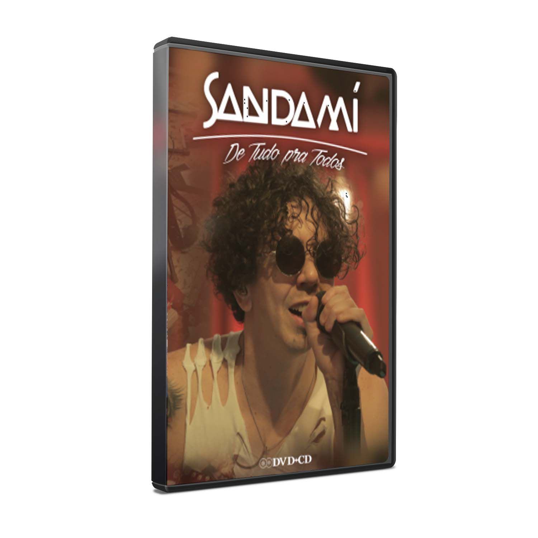 KIT DVD+CD SANDAMÍ - DE TUDO PRA TODOS