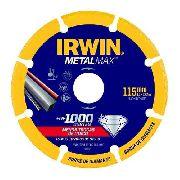 Disco Corte Diamantado Ferro 4.1/2x7/8 Metalmax Metal Irwin