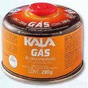 Refil Cartucho Gas Pesca Camping Fogão 230g Kala - 908622