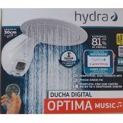 Chuveiro Ducha Optima Music Digital Hydra 220v Mp3 Usb