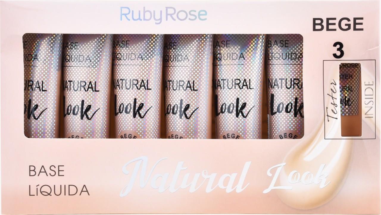 BOX DE BASE NATURAL LOOK BEGE 3  - RUBY ROSE