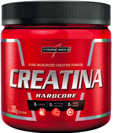 8c3a5ed49 Creatina Hardcore - 300g - IntegralMedica - SUPPLEMENTUM
