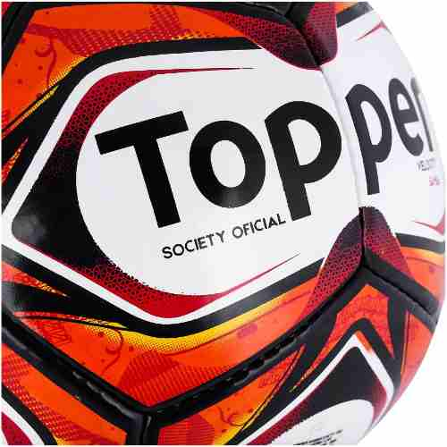 Bola Society Topper Samba Ii Costurada - SPORT CENTER JARAGUÁ 75142f448750e
