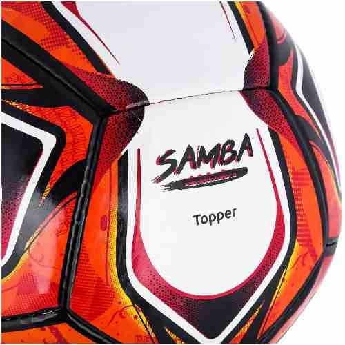 Bola Society Topper Samba Ii Costurada - SPORT CENTER JARAGUÁ e9a1475e58c60