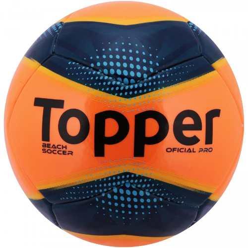 774dd3664 Bola Futebol De Areia Topper Beach Soccer Pró - SPORT CENTER JARAGUÁ