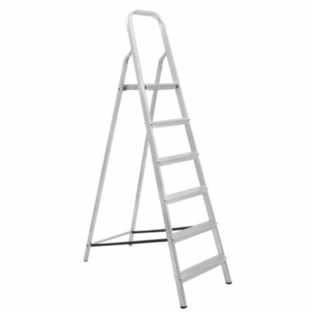 Escada De Alumínio 6 Degraus - Maestro