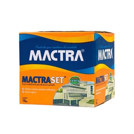 Impermeabilizante Mactraset Profissional 18kg Mactra