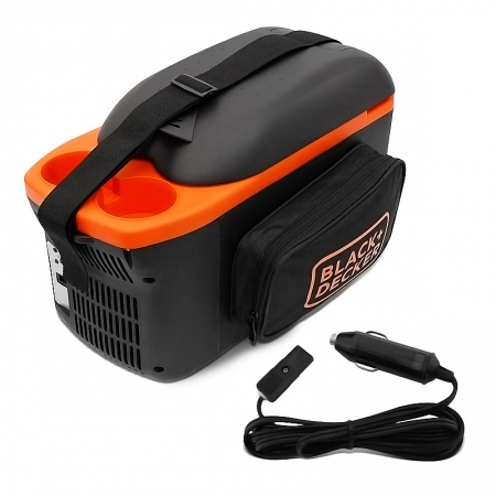 Mini Geladeira Portátil 8 Litros Bdc8l-La 12v Black + Decker
