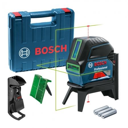 Nível A Laser Verde De Linhas 15m Bosch Gcl2-15g C/ Maleta