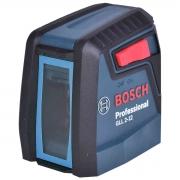 Nível a Laser Vermelho GLL2-12 Bosch + Óculos Vermelho