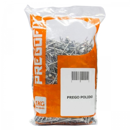 Prego 18x30 C/Cabeça Polido 1kg Pregofix
