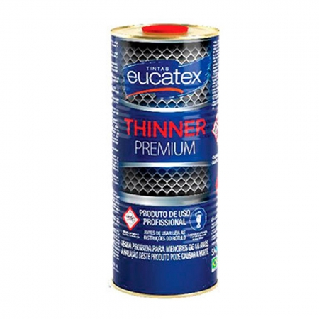 Thinner Solvente 900ml - Eucatex