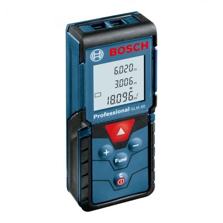 Trena A Laser Medidor De Distância 40 Metros Bosch Glm40