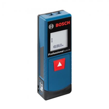 Trena Laser Alcance 20 Metros Medidor Laser Bosch Glm 20