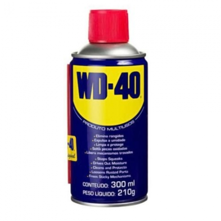 Wd40 300ml Óleo Desengripante Lubrificante Spray Original