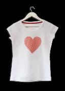 Camisa Feminina Eu Escolhi Esperar Coração