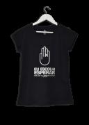 Camisa Feminina Eu Escolhi Esperar Mão em Rabisco