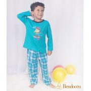 Pijama Daniel - Modelo bebê -  inverno