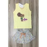Pijama Infantil Feminino - Verão