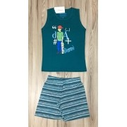 Pijama Infantil Regata Masculino- Daniel Teens