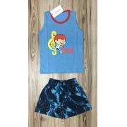 Pijama Infantil Regata Masculino- Rei Davi baby
