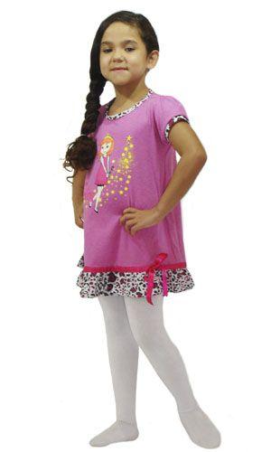Camisola Ester - Modelo Rosa  - Bençãos do Céu
