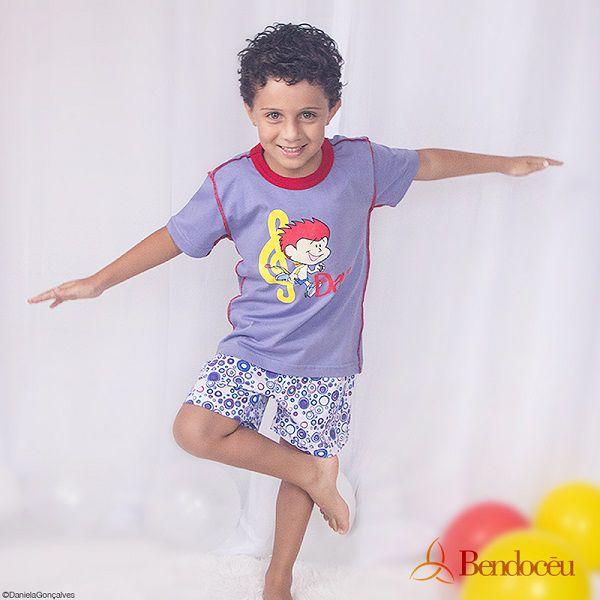 Pijama Davi- Modelo EB  - Bençãos do Céu