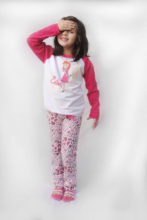 Pijama Ester - Modelo Jovem  - Bençãos do Céu